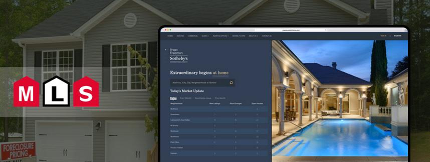Real estate website design and development for Briggs Freeman