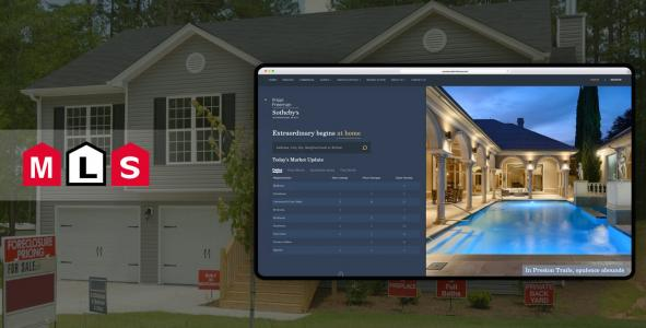 MLS Website Development for Dallas, Texas Real Estate Company