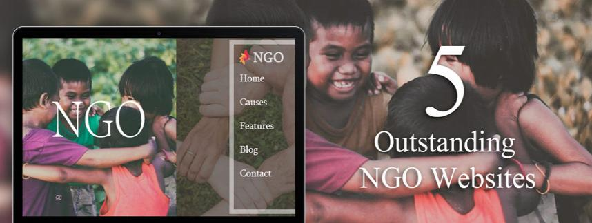 NGO website design