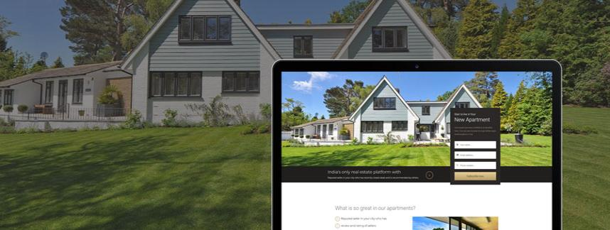 real estate web development
