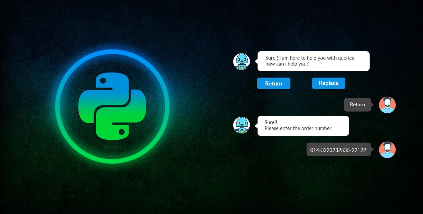 Chatbot Development using Python - Rootinfosol