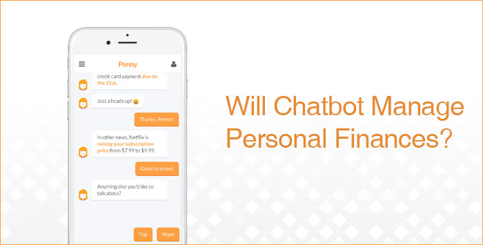 Penny chatbot application